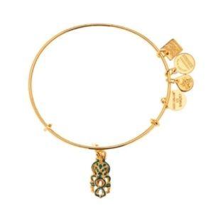 Alex and Ani Octopus Charm Expandable Bracelet